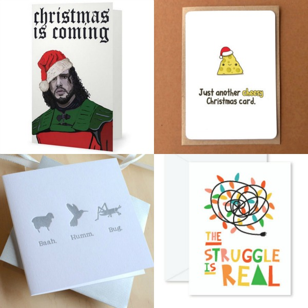 More quirky christmas cards
