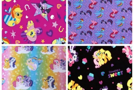 My Little Pony fabrics