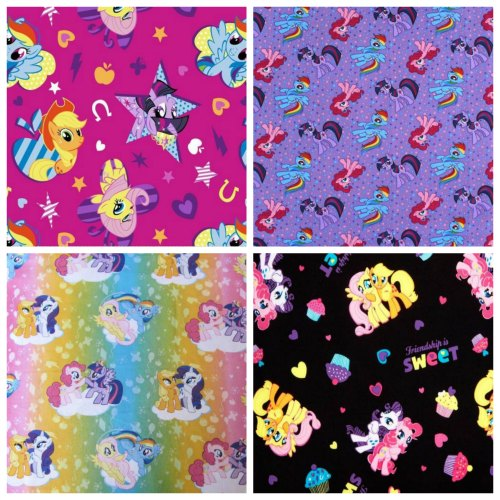 Fabric find who loves my little pony handmade for Kids horse fabric