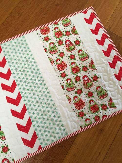 Table Runner by Sew Delicious