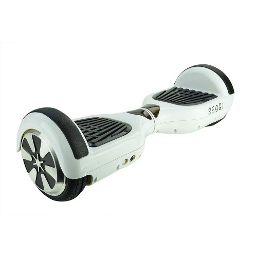 White self balancing scooter
