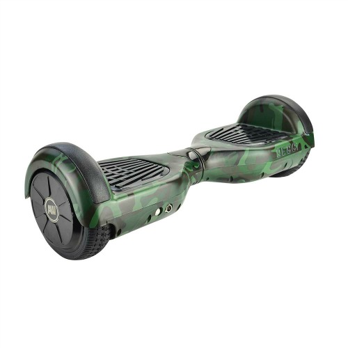 dark camo self balancing scooter