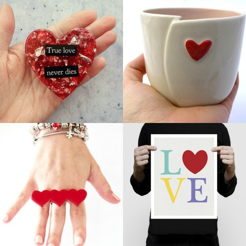 Handmade gifts for Valentines Day