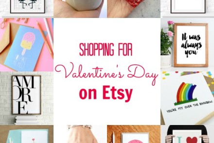 Shopping for Valentine's Day on Etsy