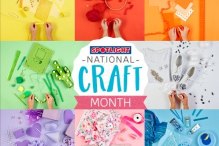 April National Craft Month at Spotlight