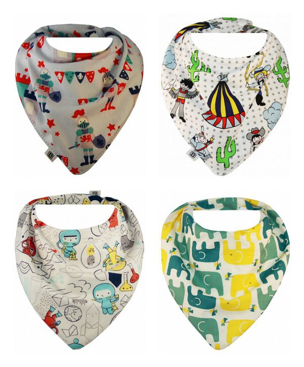 Bibska Bibs for Boys