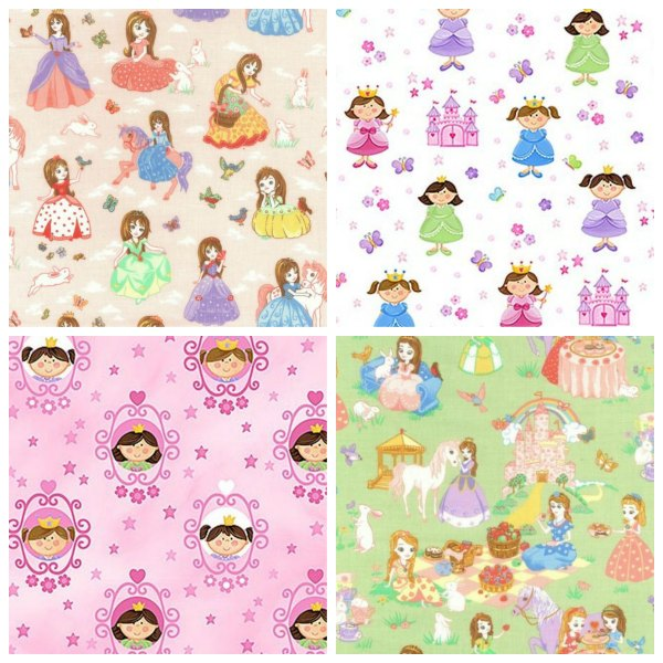 Fabric fit for a princess