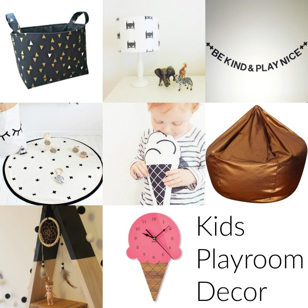 Handmade Decor perfect for a Kids Playroom