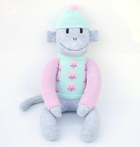 Poppy the Sock Monkey
