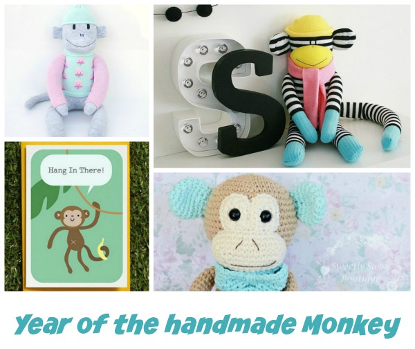 Year of the handmade Monkey