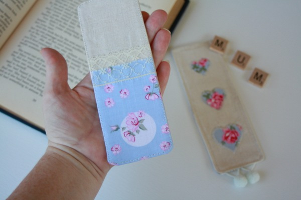 Make a Fabric Bookmark