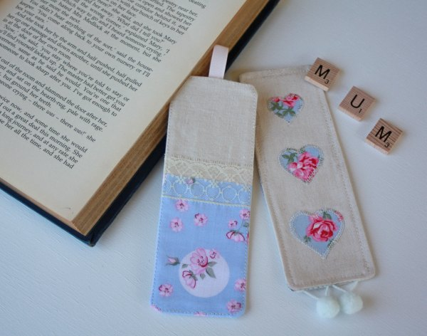 Sew a Fabric Bookmark for your Mum