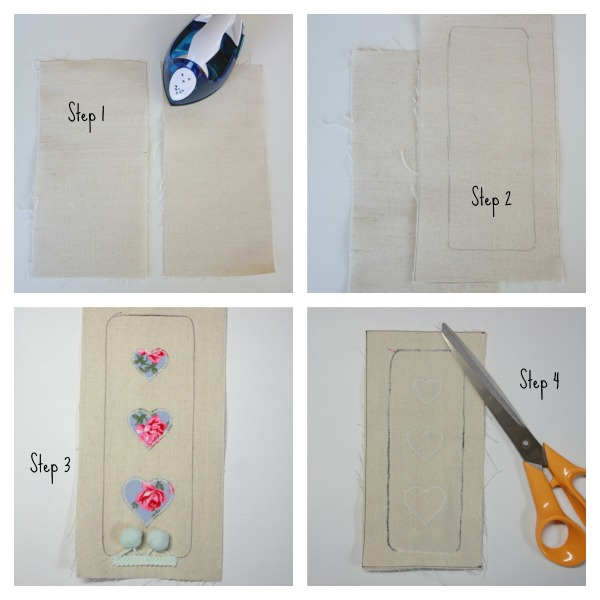 Steps to create a Fabric Bookmark