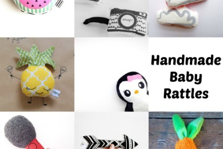Handmade Baby Rattles