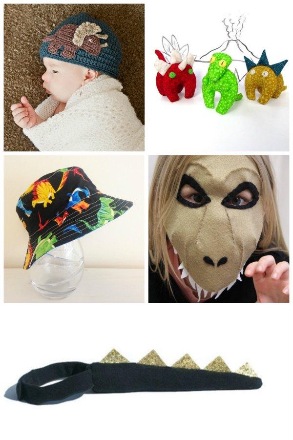Handmade Dinosaur gift ideas