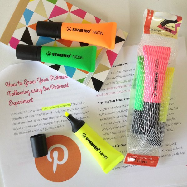Stabilo Neon highlighter