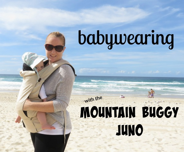 Babywearing with the Mountain Buggy Juno