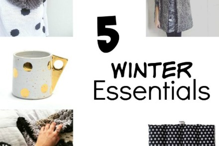 Five Winter handmade Essentials