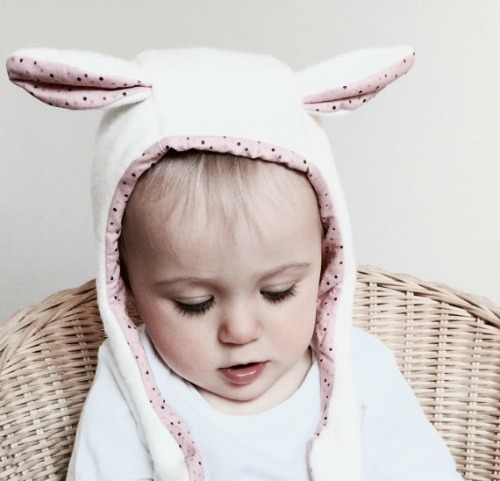 Lamb Ears Bunny Baby Bonnet