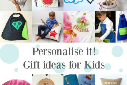 Personalise it Gift ideas for Kids