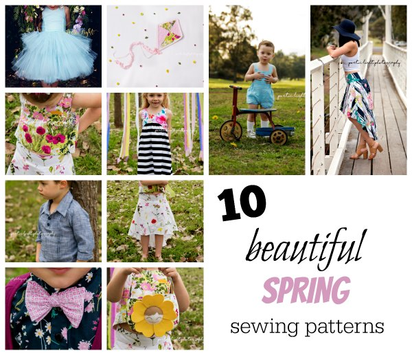 10 Beautiful Spring sewing patterns