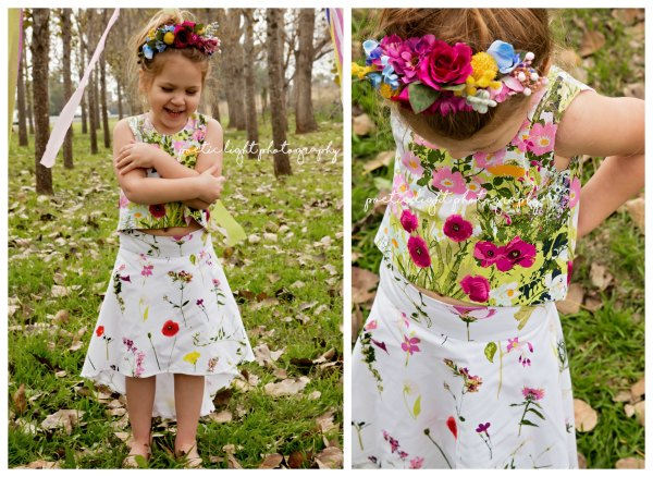GIRLS BROOK BLOSSOM SKIRT
