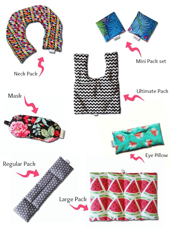 Heat and Cold Pack range