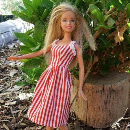 Barbie Doll Vintage Dress