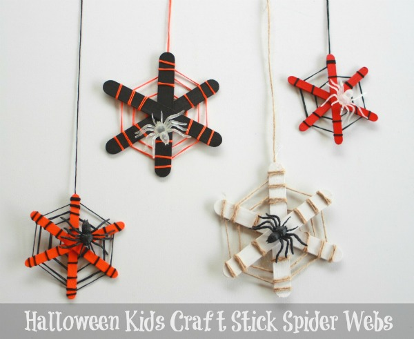 halloween-kids-craft-stick-spider-webs