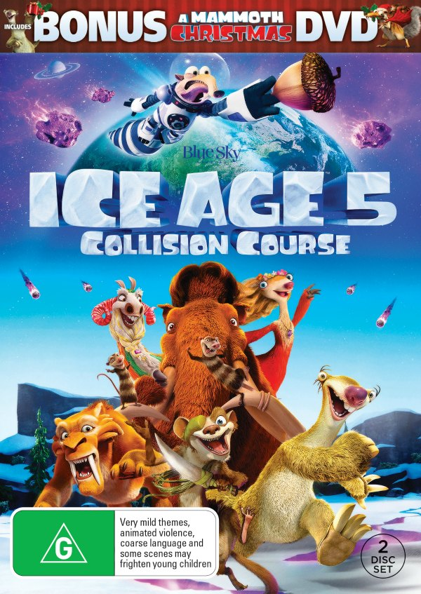Movie Night With Ice Age Collision Course Handmade