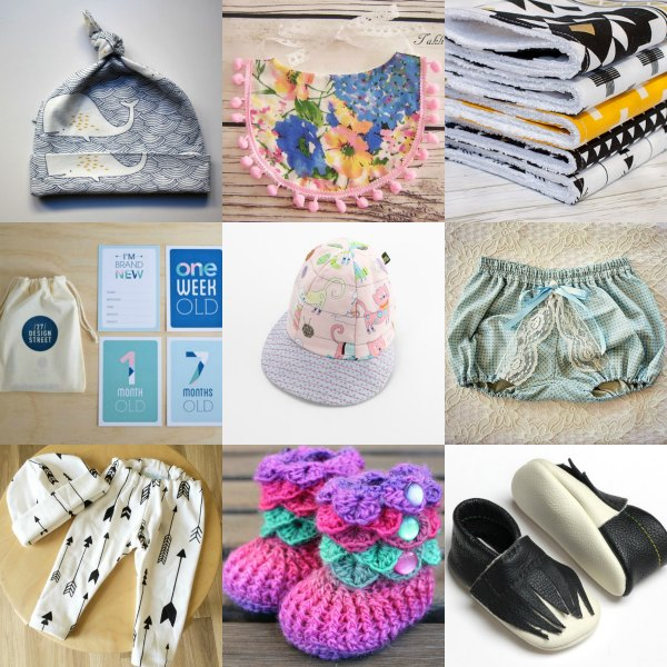 Brand New Baby Gift Ideas : Handmade ping for a brand new baby