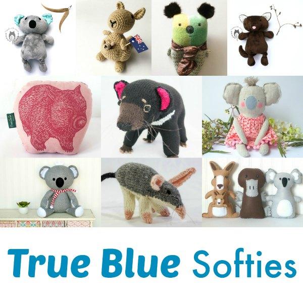 True Blue Softies