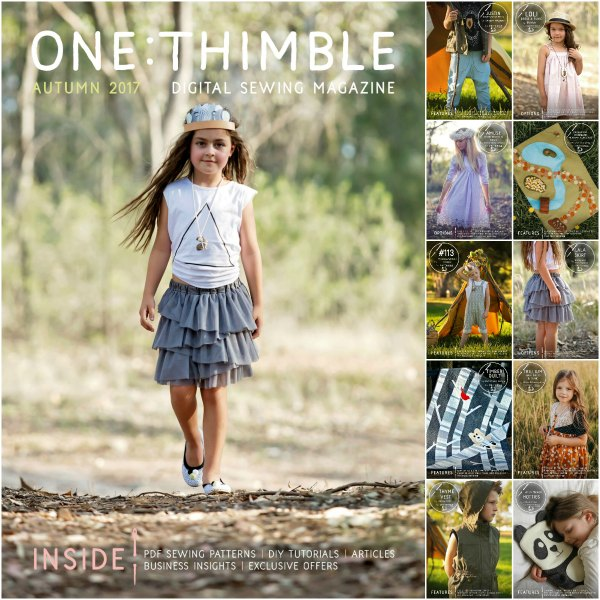 One Thimble Issue 14 Wild and Boho