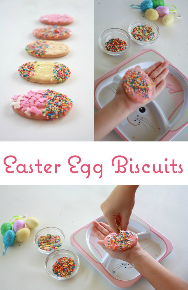 DIY Easter Egg Biscuits