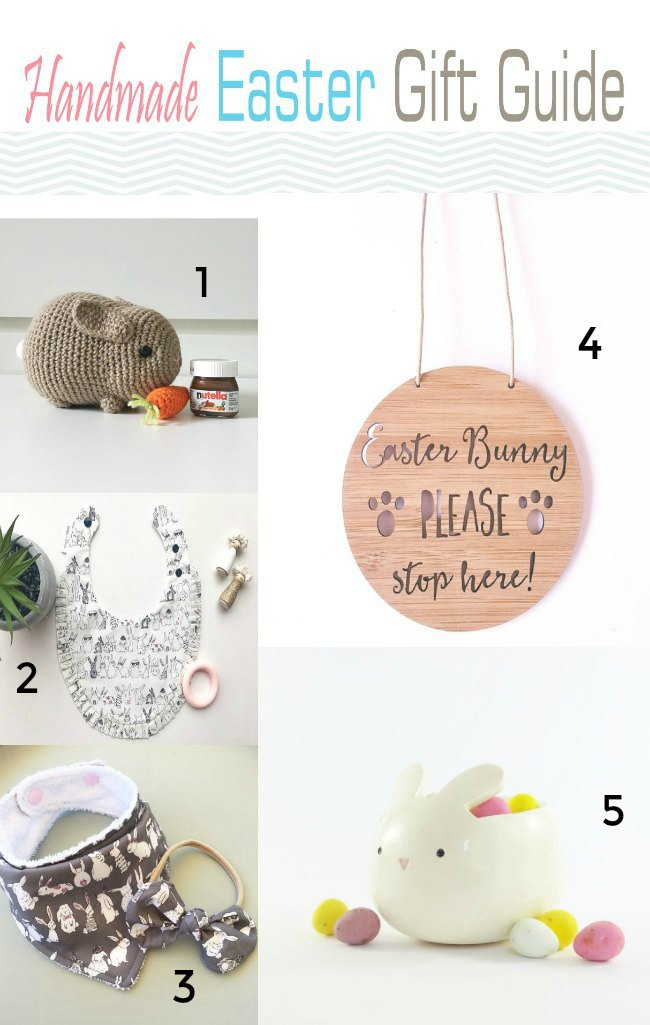 Handmade Easter Gift Guide