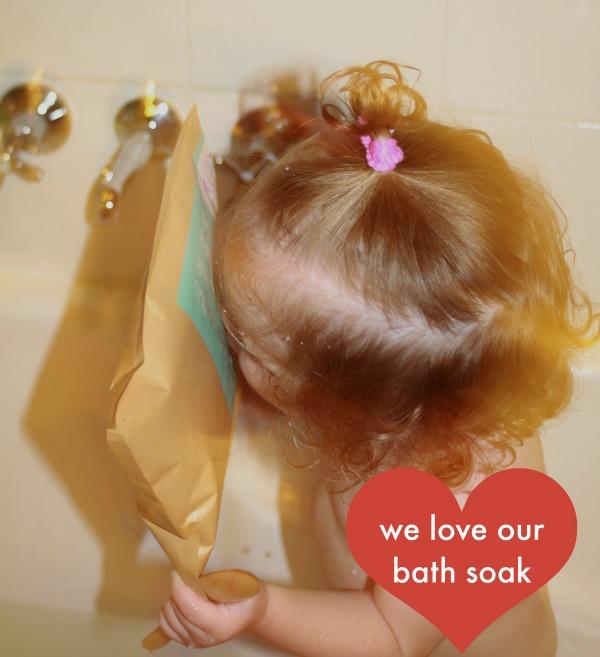 We love our bath soak