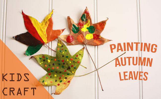 Kids-Craft-Painting-Autumn-Leaves