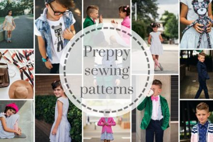 Preppy pdf Sewing Patterns in One Thimble Issue 15