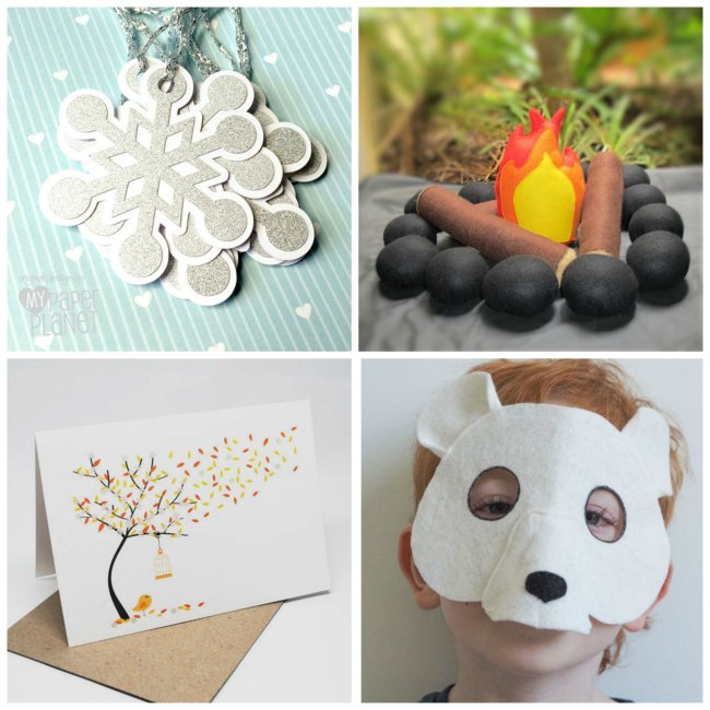Wintry handmade gift ideas