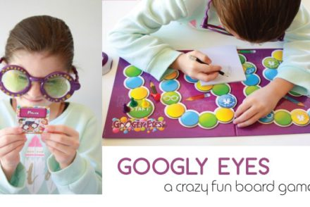 Googly Eyes Board Game