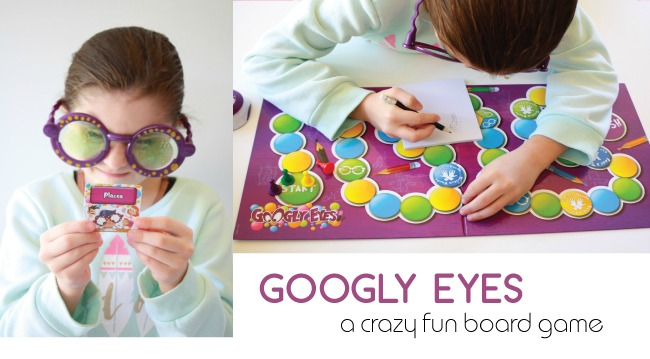 Googly eyes a crazy fun board game and giveaway handmade googly eyes board game freerunsca Gallery