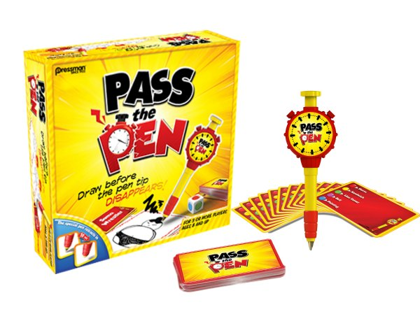 Pass the Pen Board game