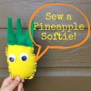 Sew a Pineapple