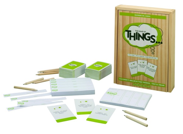 The Games of Things board game