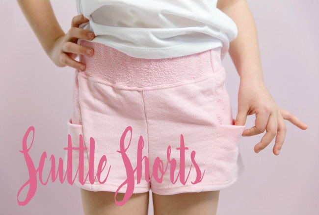Scuttle Shorts pdf pattern