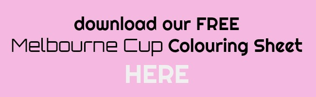Melbourne Cup Colouring Printable