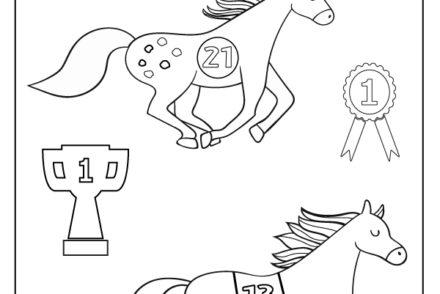 Melbourne-Cup-Kids-Colouring-Printable