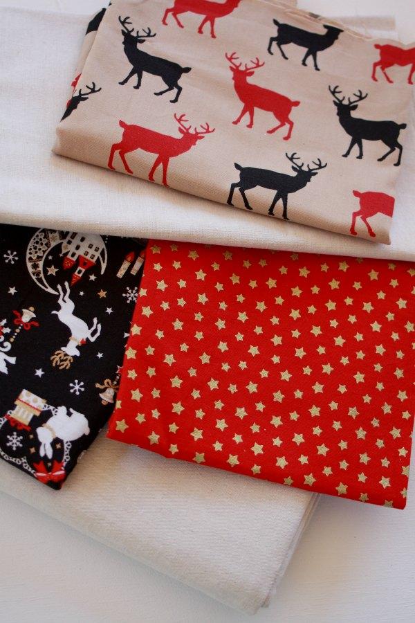 Pick your Christmas fabrics