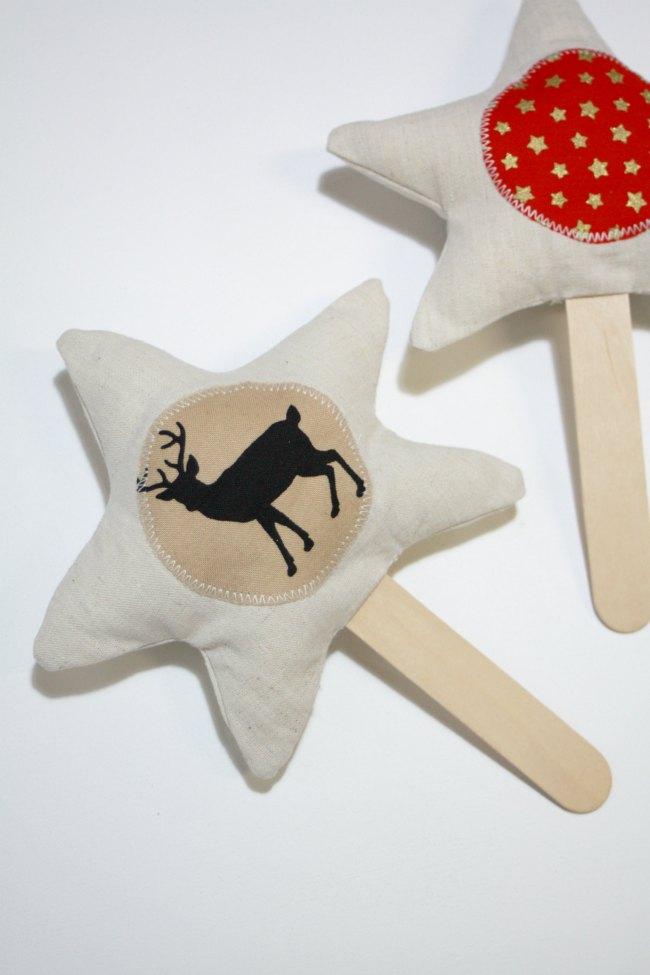 Star on a Stick - deer